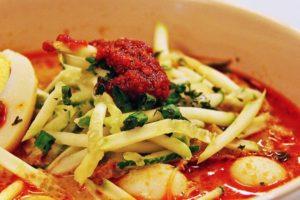シンガポール料理 ラクサ