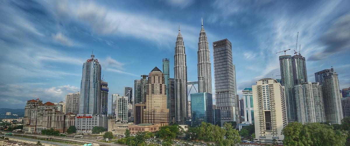マレーシアの街(昼)