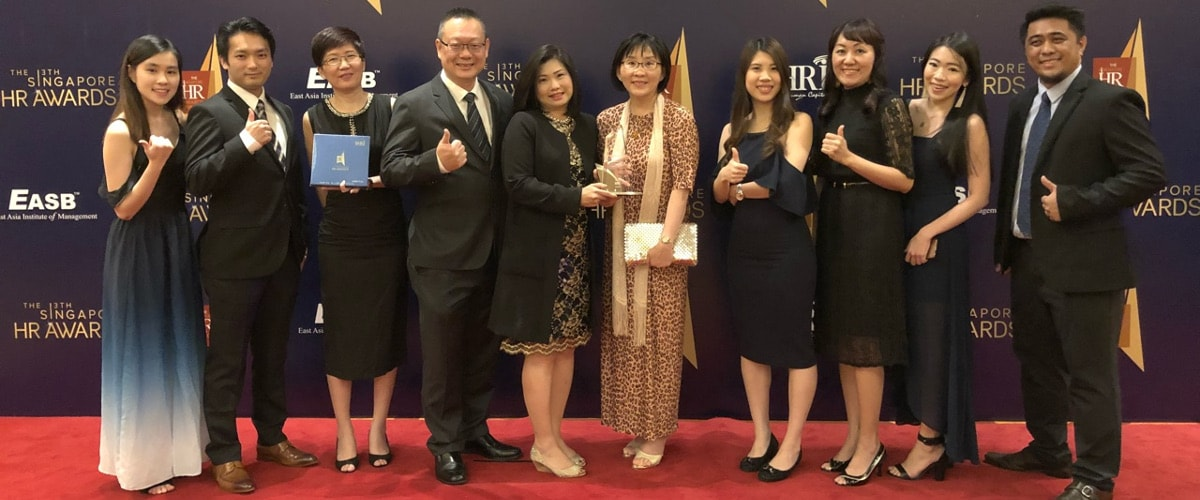 The Singapore HR Awards受賞