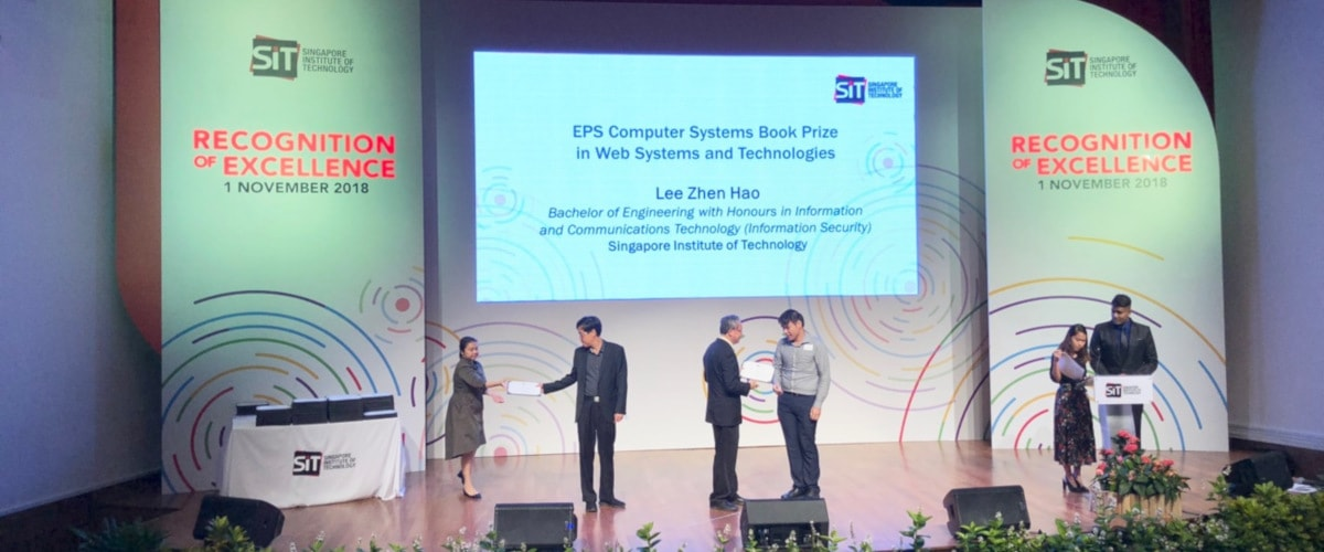 """Singapore Institute of Technology """"The Recognition of Excellence Ceremony 2018"""""""