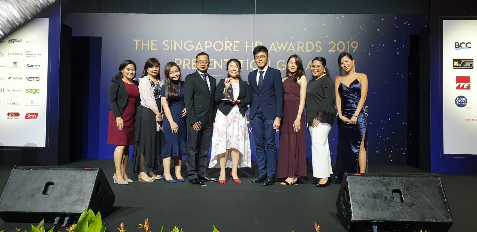 シンガポールHRアワード2019